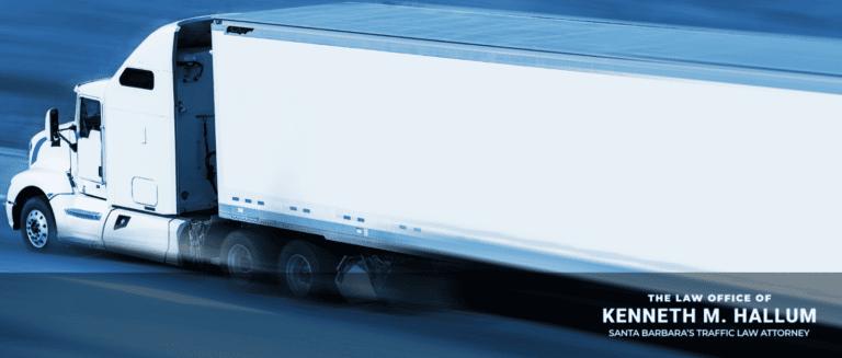 TRUCK DRIVERS: Traffic Lawyer Explains Speeding Tickets For Logistics Trucker Drivers